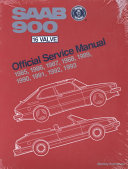 Saab 900, 16 Valve Official Service Manual, 1985-1993