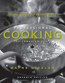 Study Guide to Accompany Professional Cooking for Canadian Chefs 7th Edition