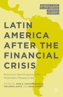 Latin America after the Financial Crisis Pdf/ePub eBook