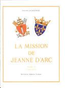 Pdf La mission de Jeanne d'Arc Telecharger