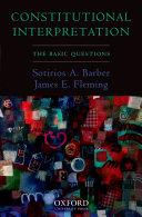 Constitutional Interpretation: The Basic Questions - Seite 95