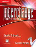 Interchange Level 1 Teacher S Edition With Assessment Audio Cd Cd Rom