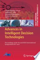 Advances in Intelligent Decision Technologies Book