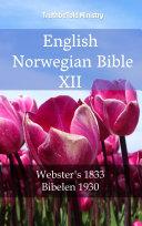 English Norwegian Bible XII