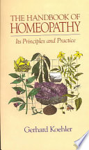 The Handbook of Homeopathy Book