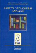 Aspects of discourse analysis