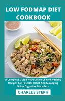 Low Fodmap Diet Cookbook Book PDF