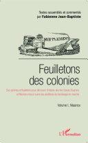 Feuilletons des colonies (Volume I), Maurice Pdf/ePub eBook