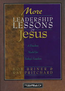 More Leadership Lessons of Jesus