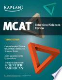 Mcat Behavioral Sciences Review