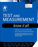 Test and Measurement  Know It All