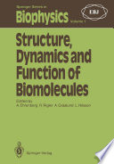 Structure  Dynamics and Function of Biomolecules Book