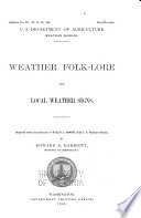 Weather Folk Lore And Local Weather Signs