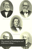 Pdf The Annual of Washington and Jefferson College
