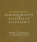 Pdf International Bibliography of Business History Telecharger