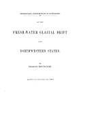 Pdf On the Fresh-water Glacial Drift of the Northwestern States