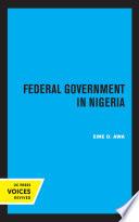 Federal Government in Nigeria