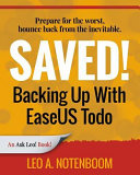 Saved Backing Up With Easeus Todo