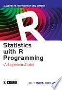 Statistics With R Programming A Beginner S Guide For Jntu Kakinada