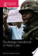 Routledge Handbook of Asian Law
