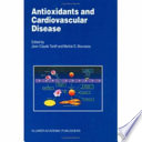 Antioxidants And Cardiovascular Disease Book PDF