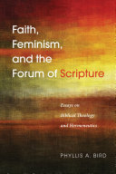 Faith  Feminism  and the Forum of Scripture