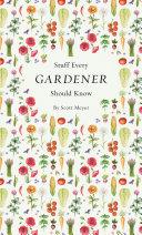 Stuff Every Gardener Should Know Pdf/ePub eBook