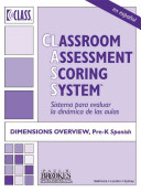 Classroom Assessment Scoring System  CLASS   Dimensions Overview  Pre K  Spanish