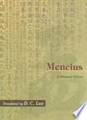 """""""Mencius"""" by Ke Meng, Mencius, Dim Cheuk Lau"""