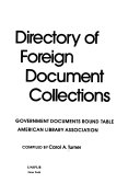 Directory of Foreign Document Collections