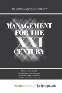Management for the XXI Century