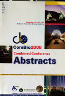 Combined Conference Abstracts