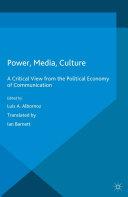 Power, Media, Culture Pdf/ePub eBook