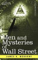 Men and Mysteries of Wall Street Pdf/ePub eBook