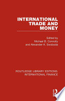 International Trade and Money