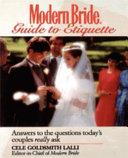 Modern Bride Guide to Etiquette
