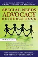 Special Needs Advocacy Resource