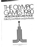 The Olympic Games  1980 Book