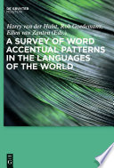 A Survey of Word Accentual Patterns in the Languages of the World