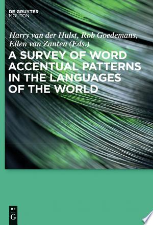 [pdf - epub] A Survey of Word Accentual Patterns in the Languages of the World - Read eBooks Online