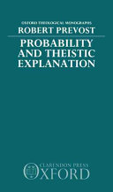 Probability and Theistic Explanation
