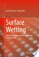 Surface Wetting