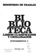 Libros clasificados y catalogados