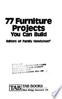 77 Furniture Projects You Can Build