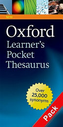 Oxford Learner s Pocket Thesaurus