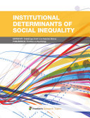 Institutional Determinants of Social Inequality