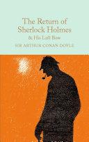 The Return of Sherlock Holmes & His Last Bow