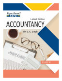 Accountancy Class XI for UP Board by Dr  S  K  Singh  SBPD Publications