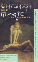 Witchcraft and Magic in Europe  Volume 5