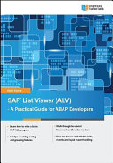SAP List Viewer  ALV    A Practical Guide for ABAP Developers